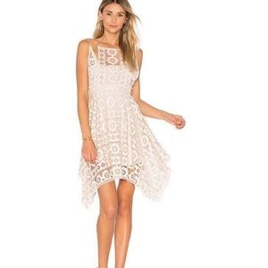 Free people just like honey lace mini dress